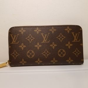 Other - Louis Vuitton Monogram Brown Leather Wallet